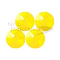 施華洛世奇 平底 黃色蛋白石SS12 (25粒)