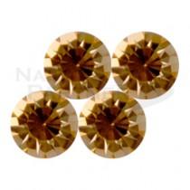 VAINAL V型切割淺蜜桃水鑽 SS34 (6顆)