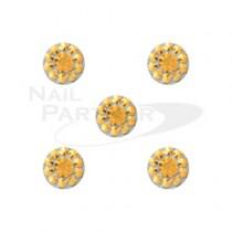 M Petit 壓克力鑽飾 金 3.8mm(20個)