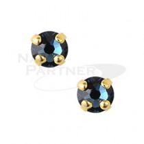 ◆CLOU 美甲珠寶 附台座鑽飾 蒙大拿 3mm (10個)