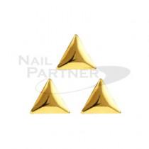 ◆CLOU 鉚釘 三角形3mm 金(500個)