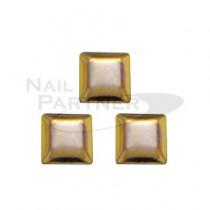 CLOU 金屬飾品 鉚釘 方形 金色2*2mm(500粒)