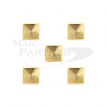 CLOU 粗紋 正方形 金4mm (30個)