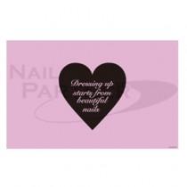 NP×PRW 矽膠美甲桌墊 粉色