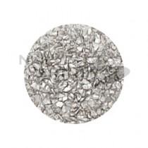 SARURU 銀色金屬碎片 1g AC642