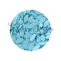 ◆CLOU 葉子亮片 水藍色