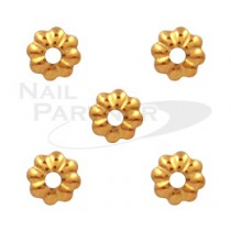 Capri 花型珊瑚 金色 (50粒)