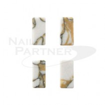 ◆SARURU 天然石紋棒1245 焦糖大理石(4個)