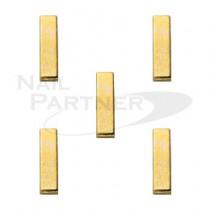 SARURU 美甲飾品 長方型金條S 7x2mm(10個)