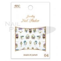 Bn.inc. 3D彩繪貼紙 OTN-04 珠寶飾品