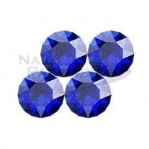 施華洛世奇 尖底 深海藍水晶PP24 (36粒)