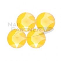 施華洛世奇 尖底 淡黃水晶SS29 (10粒)