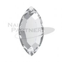 施華洛世奇 平底 橢圓4x2mm 水晶(24粒)