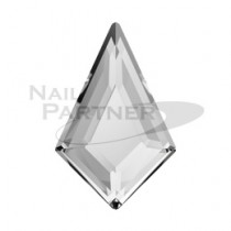 施華洛世奇 平底 菱形8.6x5.6mm 水晶(4粒)
