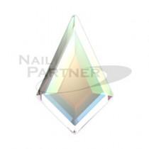 施華洛世奇 平底 菱形 6.4x4.2mm 水晶亮彩(6個)#2771