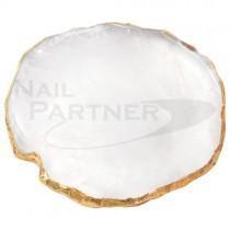 NP 天然石調色盤 白
