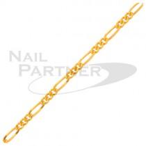 Clou飾品 不規則鍊條金色(25cm)