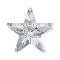 施華洛世奇 尖底 #4745 星5mm 水晶(4粒)
