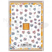 Sha-Nail 貼紙 Pro ASEF-001 (Ethnic Flora Botanical)