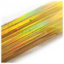 ◆SARURU 超極細絲線 雷射金 (100cm)