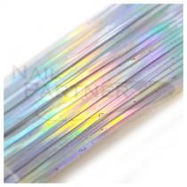 SARURU 超極細絲線 雷射銀 (100cm)
