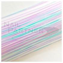 SARURU 超極細極光絲線 透明 (100cm)