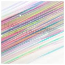 SARURU 超極細極光絲線 混色 (100cm)