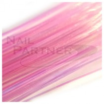 ◆SARURU 超極細極光絲線 粉紅 (100cm)
