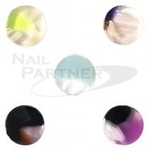 ◆SARURU 天然石紋 圓1251(5個)1251