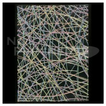 BN.INC. 貼紙 不規則網狀 極光 CNS-03