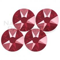 施華洛世奇 平底 水晶暗紅SS12 (25個)