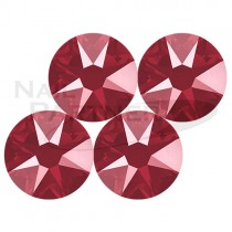 施華洛世奇 平底 水晶暗紅SS16 (25個)