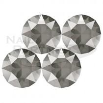 施華洛世奇 尖底 水晶暗灰SS29 (10粒) #1088
