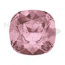 施華洛世奇 尖底 方形 8mm 水晶復古粉色(2個) #4470