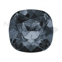 施華洛世奇 尖底方形8mm 水晶銀色夜影(2個) #4470