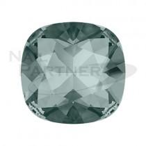 施華洛世奇 尖底方形8mm 黑鑽石(2個) #4470