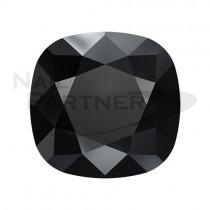 施華洛世奇 尖底 方形 8mm 黑玉(2個) #4470