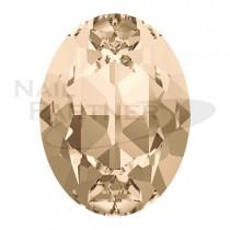 施華洛世奇 尖底 橢圓 8x6mm 輕絲綢(6個)#4120