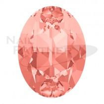 施華洛世奇 尖底 橢圓 8x6mm 玫瑰蜜桃(6個)#4120
