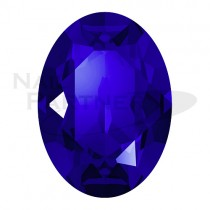 施華洛世奇 尖底 橢圓  6x4mm 深海藍水晶(6粒)#4120