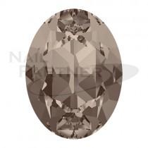 施華洛世奇 尖底 橢圓 8x6mm 灰米色(6個)#4120