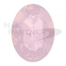施華洛世奇 尖底 橢圓 8x6mm 水漾薔薇蛋白(6個)#4120
