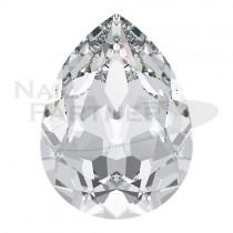 施華洛世奇 尖底水滴 6x4mm 水晶(6粒)#4320