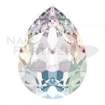 施華洛世奇 尖底 水滴 8x6mm 水晶AB(6粒)#4320