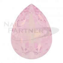 施華洛世奇 尖底 水滴 6x4mm 水漾薔薇蛋白(6個)#4320