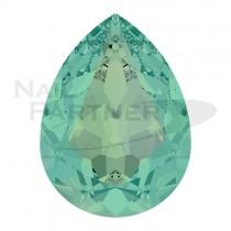 施華洛世奇 尖底 水滴 6x4mm 水藍蛋白(6個)#4320