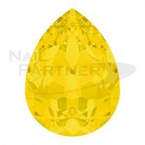 施華洛世奇 尖底水滴 6x4mm 黃色蛋白石(6粒)#4320