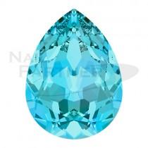 施華洛世奇 尖底 水滴 6x4mm 海藍(6個)#4320