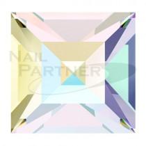 施華洛世奇 尖底方形6mm 水晶極光(8個) #4428