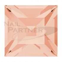 ◆施華洛世奇 尖底 方形3mm 淺桃色(20個) #4428
